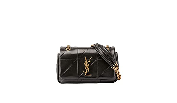 8bb84c352e Saint Laurent Jamie Monogram YSL Small Diamond-Quilted Chain Shoulder Bag  Made in Italy  Handbags  Amazon.com