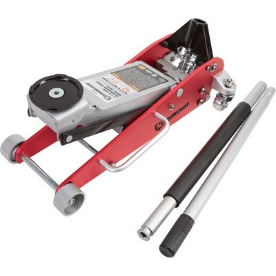 Strongway Hydraulic Aluminum/Steel Quick Lift Service Jack - 2 1/2-Ton Capacity, 3 15/16in.-18 1/8in. Lifting Range by Strongway (Image #9)