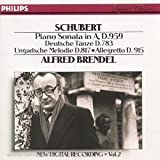 Schubert: Piano Sonatas D.959