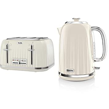 e3d9c6449f14 Breville Impressions 4 Slice Toaster and Kettle Bundle - Cream ...