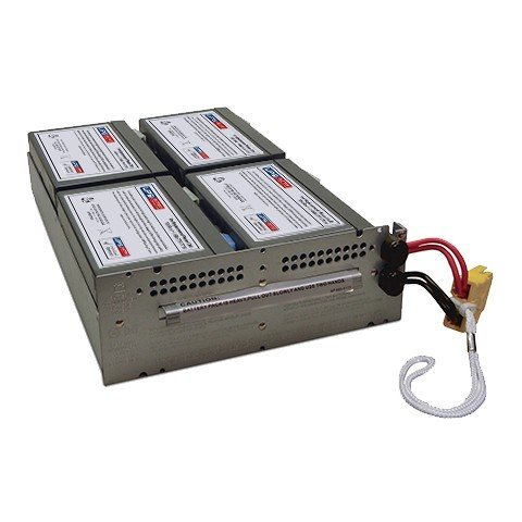Replacement Battery Cartridge for APC Smart-UPS 1500VA LCD RM 2U SMT1500RM2U (Rm 2u Ups Model)