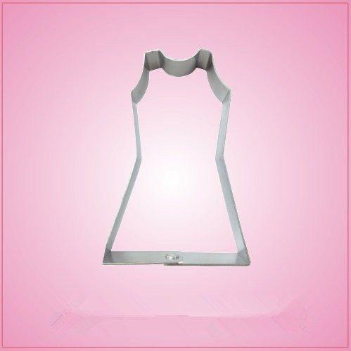 Cheerleader Dress Cookie Cutter 3 inch-aluminum ()