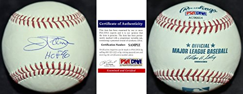 Jim Palmer Signed - Autographed Official MLB Baseball with FREE Display Case with and HALL OF FAME 1990 Inscription - Baltimore Orioles - PSA/DNA Certificate of Authenticity - Inscription Mlb Fame Baseball