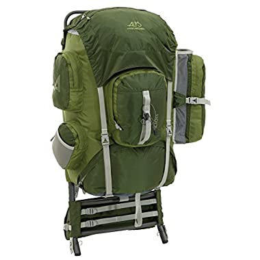 ALPS Mountaineering Zion 3900 Cubic Inches External Pack (Olive)
