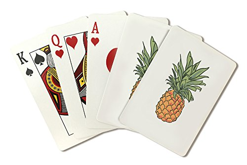 Pineapple - Icon (Playing Card Deck - 52 Card Poker Size with Jokers)