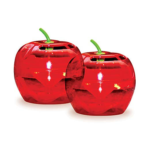 Raid Flytrap 2PK-FFTA Apple Fruit Fly Traps, 2 pk, Red