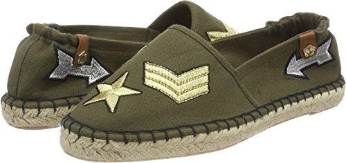 Women's Tamaris khaki Military Beige Espadrilles 24605 Uwq7Ba