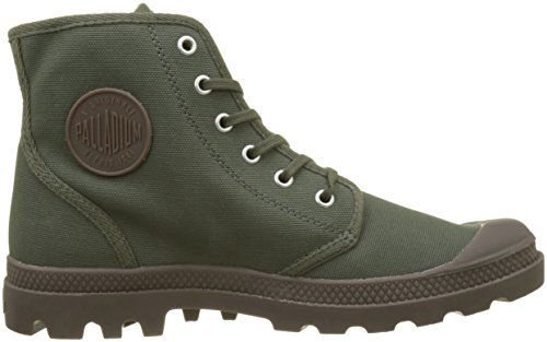 Palladium Pampa Hi Originale Mixte, Baskets Hautes Mixte Adulte, Vert (Olive Night/Black K65), 37 EU (4)