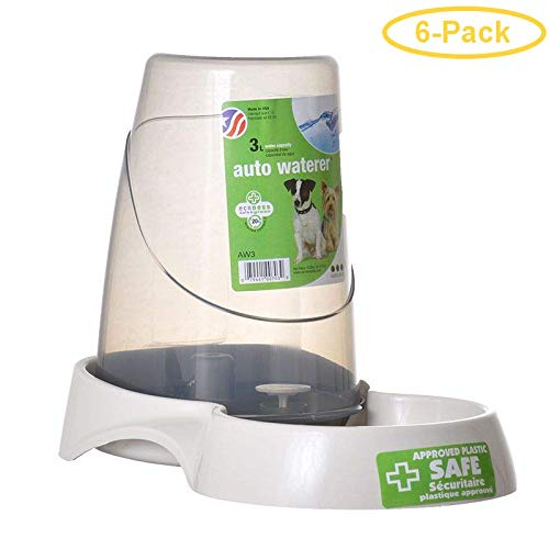 Van Ness Pure Ness Auto Pet Waterer 3 Liters - Pack of 6 by Van Ness