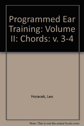 Programmed Ear Training: Chords, Vol. 2, 2nd Edition