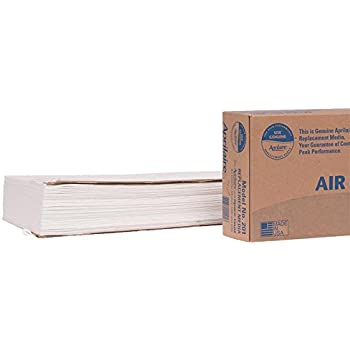 Aprilaire 201 Air Filter 4 Pack for Air Purifier Models 2200, 2250, Space-Gard 2200