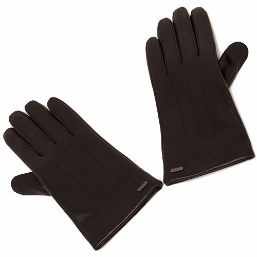 4b143d747967 Amazon   (コーチ) COACH アウトレット ベーシック レザー グローブ / 手袋 F85156 SV/MA [並行輸入品] 6.5    Amazon Fashion 通販