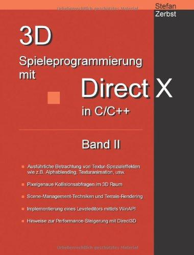 3D Spieleprogrammierung mit DirectX in C/C++: Band II