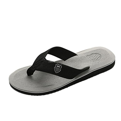 Shoes Slippers Sandals Comfort Gray Flip Thongs Beach Kingfansion Sandals Sandals Lightweight Shower Men Bath Summer Flops Yq6qwSP