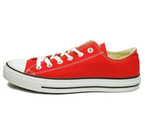 (Converse Chuck Taylor Core Men's Chuck Taylor All Star Ox Sneaker 10.5 Red)