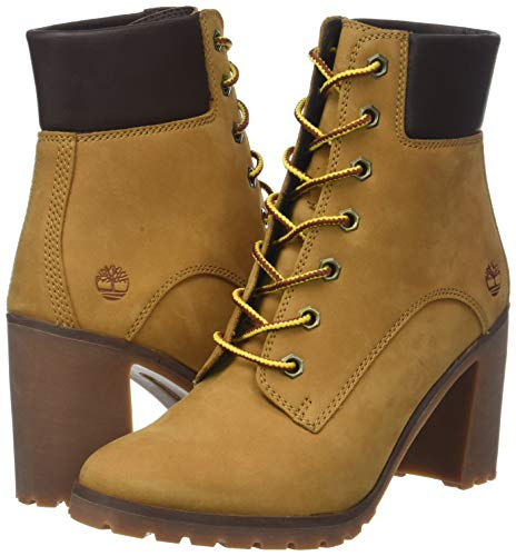 6 Marron Timberland Femme wheat Allington Hautes Up Lace 231 inch Bottes rRrwxn6q