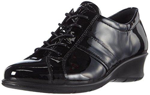 Black04001 Ecco Noir Felicia Derby Femme 74CAq7rw
