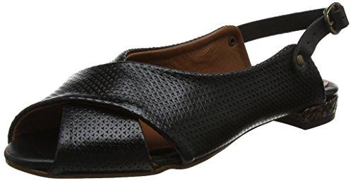Open Black Sandals LiliMill Delmar Nero Toe Ner Women's RwqxZnEf4U