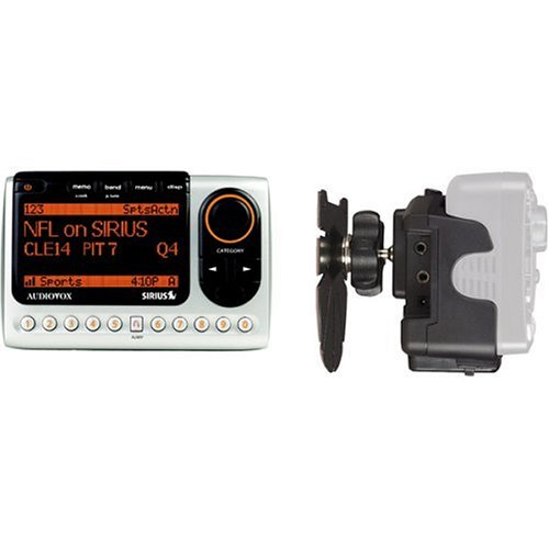 Audiovox SIR-CMB3 Sirius Satellite Radio Receiver and Docking Station (Cigarette Satellite Lighter Radio Mount)