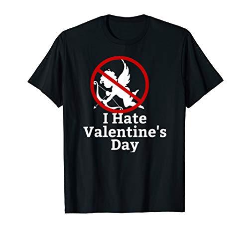 I hate Valentine's Day Tshirt Anti-Valentines Day SAD Dark