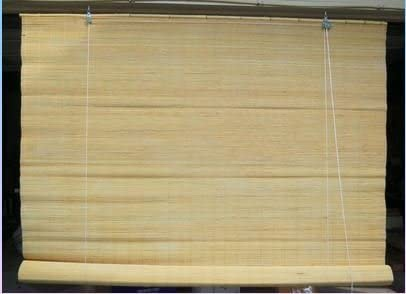 Natural Color Matchstick Bamboo Blind 71″ Wide x 138″ Long