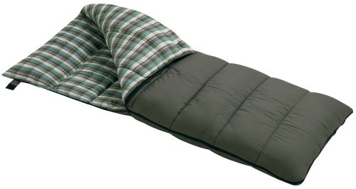 Wenzel Conquest 25-Degree Sleeping Bag (Olive), Outdoor Stuffs