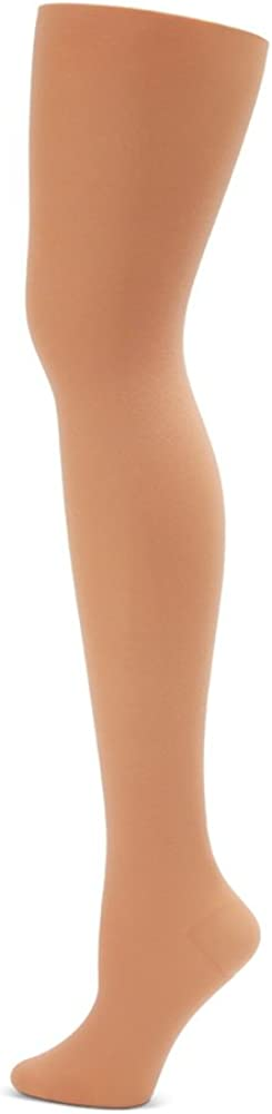 Capezio Womens Hold /& Stretch Footed Tight