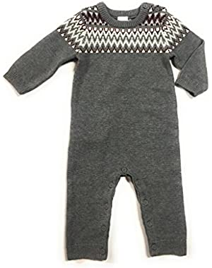 Baby Boy's Sweater Romper