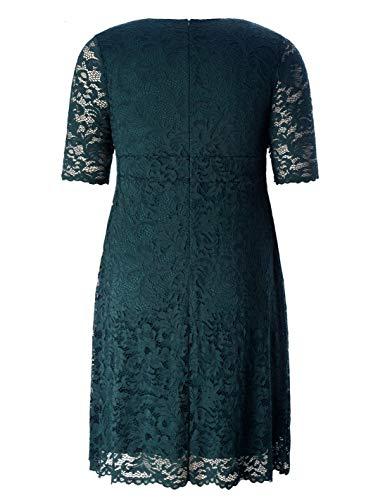 Valentine Plus-Size Knee-Length Dresses