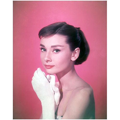 Audrey Hepburn Dress My Fair Lady (Audrey Hepburn 8 x 10 Photo My Fair Lady Funny Face Sabrina Breakfast at Tiffany's White Gloves Strapless Dress kn)