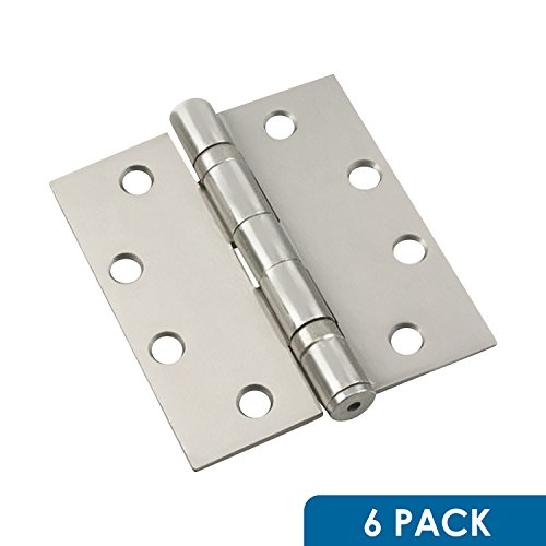6 Pack Rok Hardware Strong Steel 4-1/2