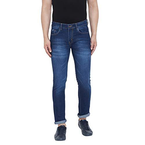 Ben Martin Men's Relaxed Fit Jeans (Dark Blue, 36)
