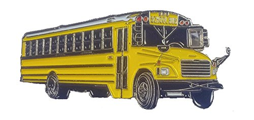 School bus lapel pin Thomas (School Bus Pins)