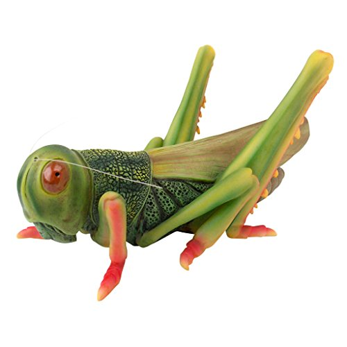 Design Toscano JQ7702 Ricochet The Grasshopper Statue, Full Color