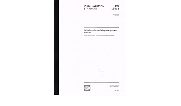 iso 19011 pdf 2011 español