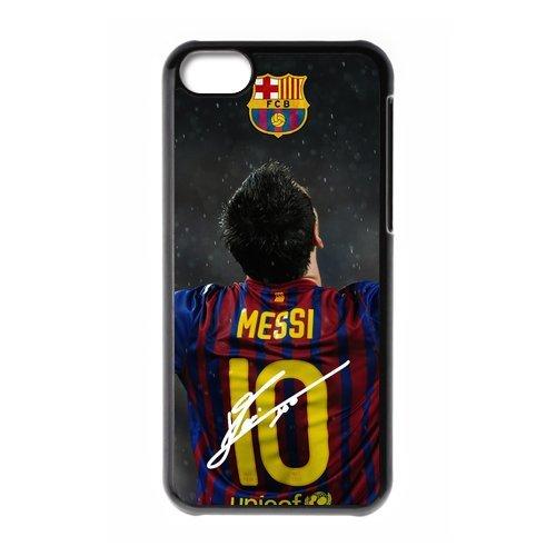 FC Barcelona Lionel Messi Sign iPhone 5C Unique Design Unique Gift Cover Case (Batman And Robin Shoes)