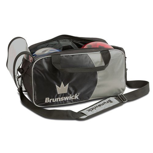 brunswick-crown-double-tote-with-shoe-pouch-bowling-bag-silver