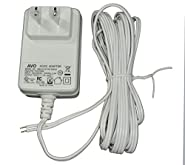AVO 12VD150W - 12V DC 1.5A White Wall Plug DC Adapter / Power Supply, Input: 100-240VAC 50/60Hz, Non-Terminated 10 Foot Parallel Zip Cord Lead Wire