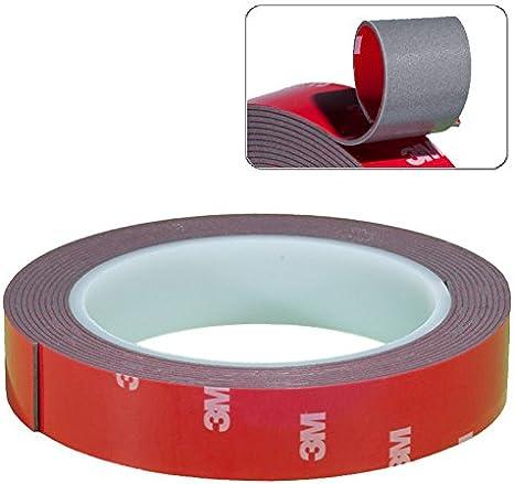 3M Klebeband doppelseitig Scotch Brand Tape 50 mm 1 Rolle  50 Meter schwarz