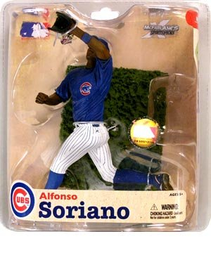 Chicago Cubs Uniforms (McFarlane SportsPicks MLB Series 21: Alfonso Soriano 3 - Chicago Cubs)