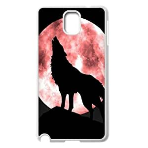 Customized Cell Phone Case for SamSung Galaxy Note3 n9000 - Wolf case 1