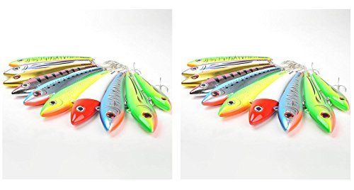 Halco Set of 2 Max 130 Saltwater Trolling Casting Lure (Pilchard H50) Bundled by Maven Gifts