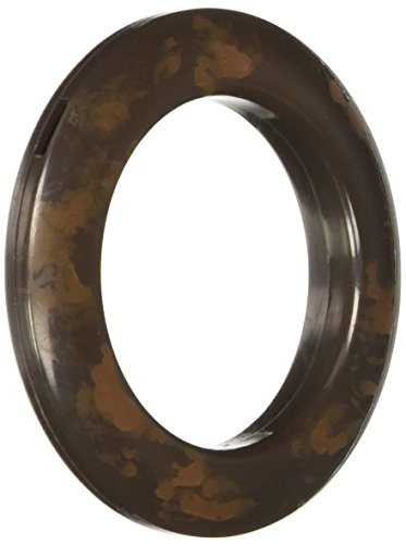 Brown Grommets (Dritz 44450 Round Curtain Grommets, Rustic Brown, 1-9/16-Inch,)