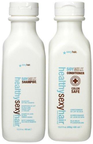 Sexy healthy soy milk shampoo