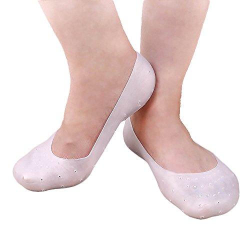 Mmrm Anti Slip Silicone Gel Moisturizing Socks Foot Care Protector,Prevent Plantar Fasciitis And Metatarsalgia,for Men