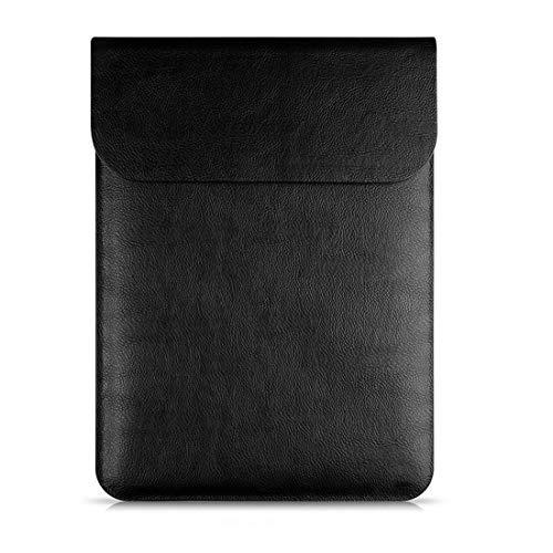 per da Macbook nero Pro valigetta portatile 11 pollici pelle Ploekgda tablet impermeabile la borsa Air tasca Custodia Custodia 12 XHBgqRw