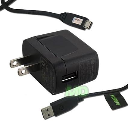 Amazon.com: Motorola Home Cargador de viaje con cable USB ...
