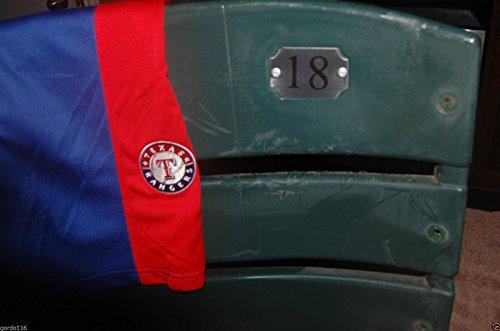 TEXAS RANGERS #18 Seatback Moreland Grieve BALLPARK ARLINGTON Stadium Chair Back