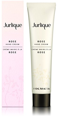 Jurlique Rose Hand Cream – Moisturizing Hand Lotion - 1.4 oz – Rich, Protective Hand Cream - Enriched with Rose Essential Oil – Restores Moisture and Smoothness (40 Ml Oil Rose)