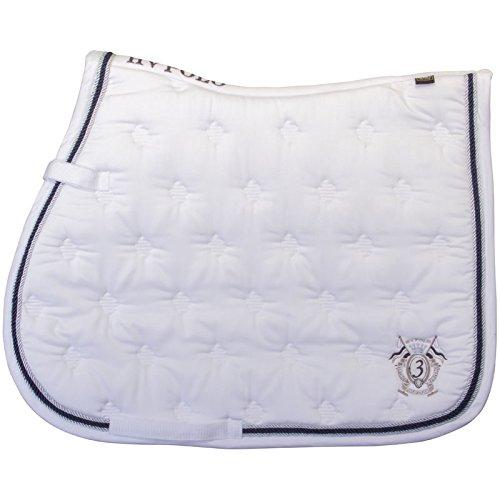 HV Polo Gent Dr Saddle Pad White